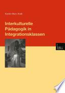 Interkulturelle P  dagogik in Integrationsklassen
