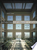 Daylighting Performance and Design Pdf/ePub eBook