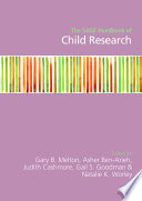 The SAGE Handbook of Child Research
