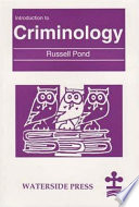 Ebook Introduction to Criminology Epub Russell Pond Apps Read Mobile