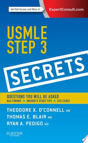 USMLE Step 3 Secrets - ISBN:9780323225069