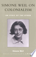 Simone Weil on Colonialism