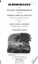 Schoonheden uit Sturm's overdenkingen over de werken Gods in de natuur