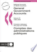 National Accounts of OECD Countries 2005, Volume IV, General Government Accounts