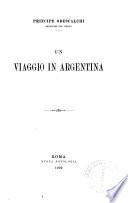 Un viaggio in Argentina