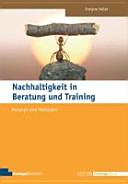 Nachhaltigkeit in Beratung und Training