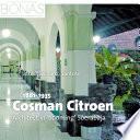 Cosman Citroen (1881-1935)