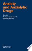 Anxiety And Anxiolytic Drugs