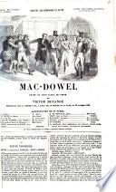 Mac-Dowel drame en trois actes, en prose par Victor Ducange
