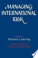 Managing International Risk