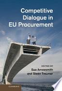 Competitive Dialogue in EU Procurement