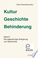 Kultur - Geschichte - Behinderung, Band 2
