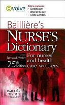 Bailli Re S Nurses Dictionary