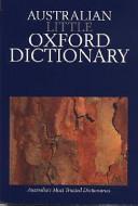 Australian Little Oxford Dictionary
