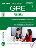 GRE Algebra Strategy Guide