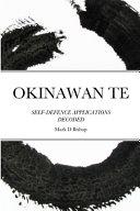 Okinawan Te