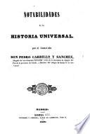 Notabilidades de la Historia Universal