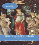 The Poems of Shelley: Volume Four Book