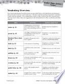 Poppleton in Winter Vocabulary Activities
