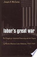 Labor S Great War