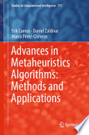 Advances In Metaheuristics Algorithms Methods And Applications