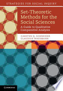 Set Theoretic Methods for the Social Sciences Book PDF