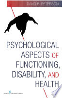 Psychological Aspects of Functioning  Disability  and Health