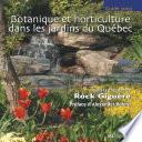 illustration Botanique et horticulture dans les jardins du Québec : guide 2002