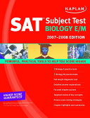 Kaplan SAT Subject Test  Biology E M  2007 2008 Edition