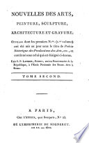 Précis historique des productions des arts, peinture, sculpture, architecture et gravure