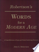 Robertson s Words for a Modern Age