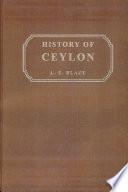 Ebook History of Ceylon Epub L. E. Blaze Apps Read Mobile