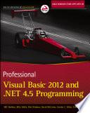 Professional Visual Basic 2012 and  NET 4 5 Programming
