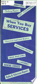 When You Buy Services