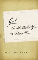 download ebook god as he wants you to know him pdf epub