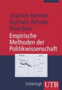Empirische Methoden der Politikwissenschaft