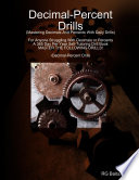 Decimals Percent Drills book