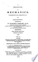 a treatise of mechanics 2 vols and plates