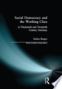 Ebook Social Democracy and the Working Class Epub Stefan Berger Apps Read Mobile