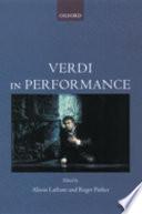 Verdi in Performance