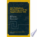 Air Pollution Modeling And Its Application Viii book