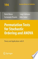 Permutation Tests for Stochastic Ordering and ANOVA