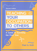 Teaching Your Occupation to Others