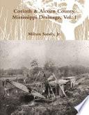 Corinth Alcorn County Mississippi Drainage Vol 1