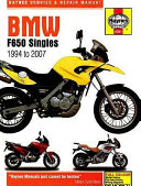 BMW F650 Singles Service   Repair Manual