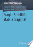 Fragile Stabilit  t     stabile Fragilit  t