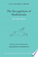 The Recognition of Shak  ntala