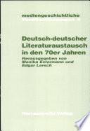 Deutsch-deutscher Literaturaustausch in den 70er Jahren