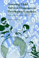 Assessing Child Survival Programs in Developing Countries