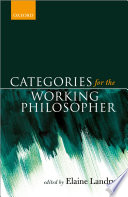 Categories For The Working Philosopher book
